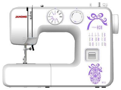 Бытовая швейная машина прямострочная механическая JANOME 812